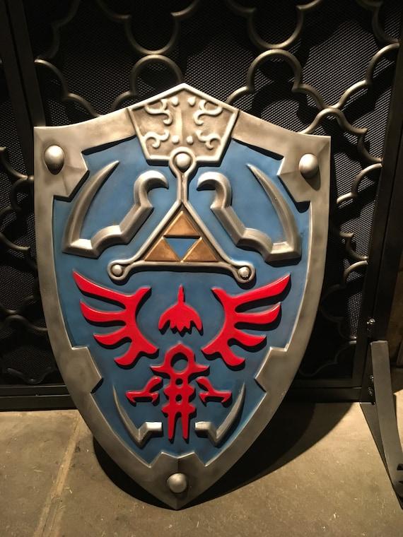 Hylian Shield Inspired Legend Of Zelda Breath Of The Wild Etsy
