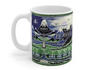 The Hobbit Book Cover Mug 11oz
