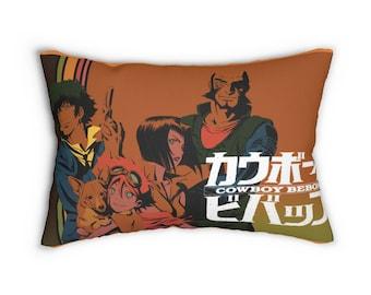 Cowboy Bebop Lumbar Pillow