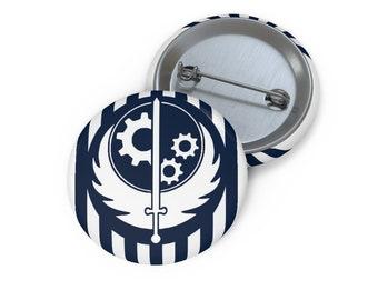 Steel Brotherhood Fallout 4 Pin Buttons