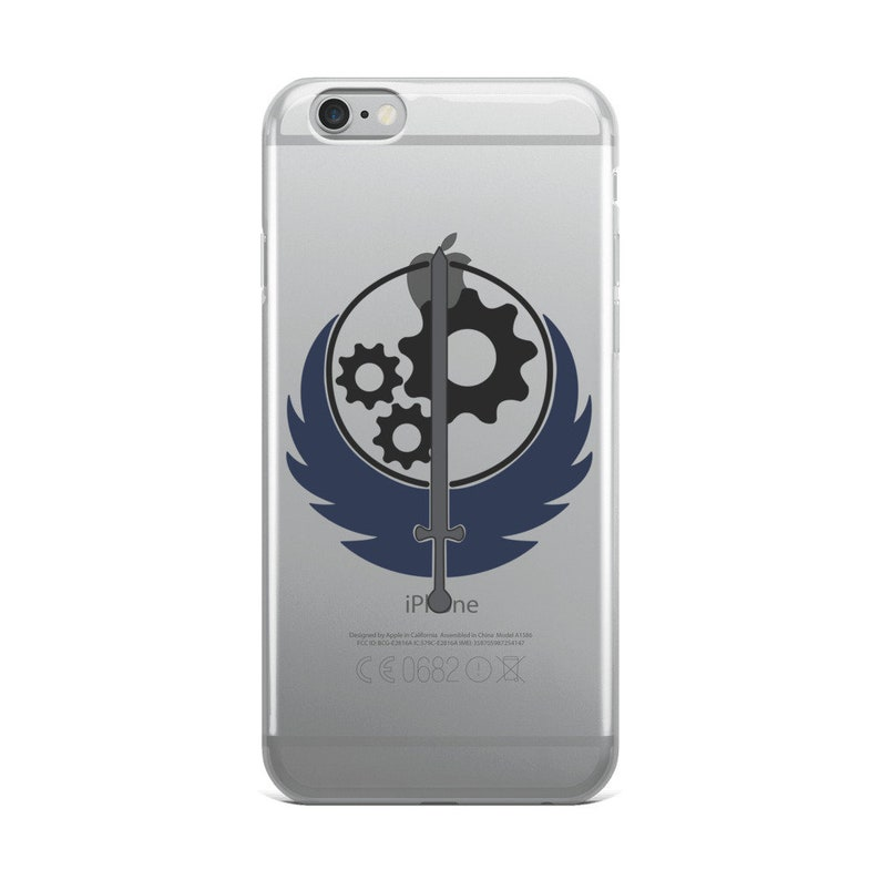 BROTHERHOOD OF STEEL EMBLEM 2 iphone case