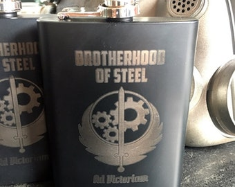 Fallout Brotherhood of Steel Stainless Steel flask