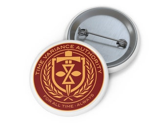 Time Variance Authority Pin Button.