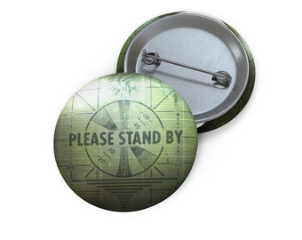 Fallout 4 Please Stand By Pin Buttons