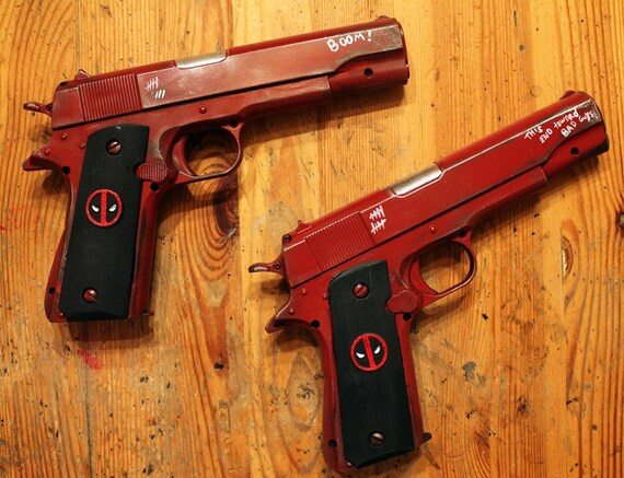 "Monaci Pistole Armi Accessori per 6/"" X-Men Deadpool Action Figure ARMA"