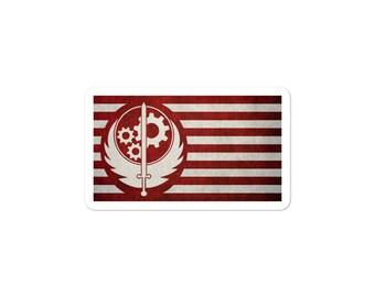 Fallout Steel Brotherhood Bubble-free stickers