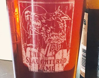 The Slaughtered Lamb American Werewolf In London, Beer Pub Pint Glass
