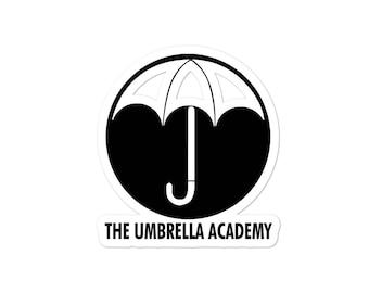 Umbrella Academy Logo Bubble-free stickers