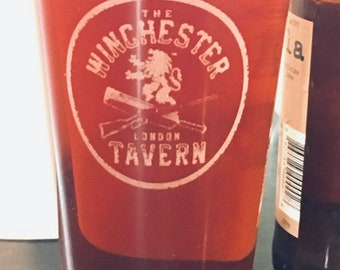 The Winchester Tavern Shaun of the Dead, Beer Pub Pint Glass