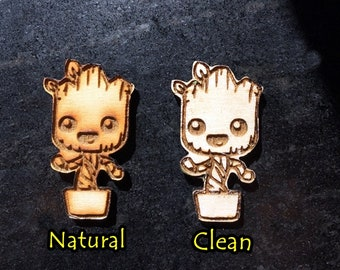 Baby Groot Guardians of the Galaxy Refrigerator Magnet or Pins, terrific gifts for GOTG fans