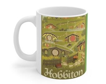LOTR Hobbiton Hobbit Shire  Mug 11oz