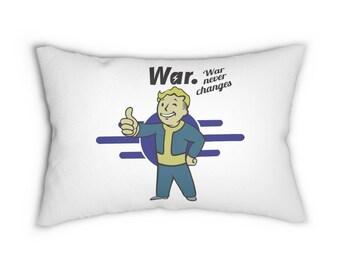 Fallout Vault Boy Lumbar Pillow