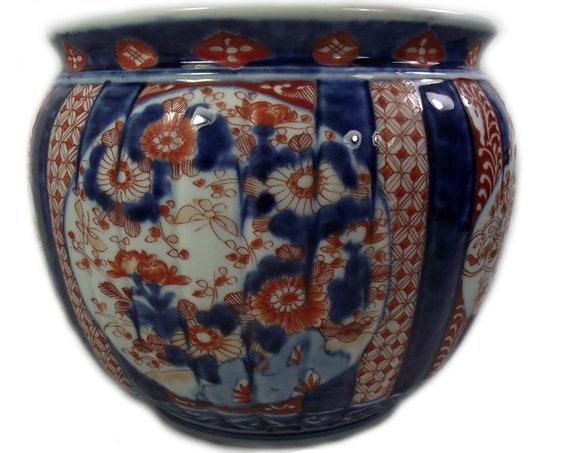 Antique Japanese Imari Jardiniere