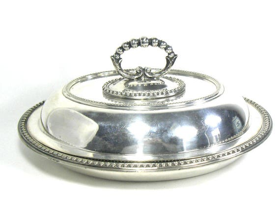 Antique Silver Plated Tureen by Roberts and Belk