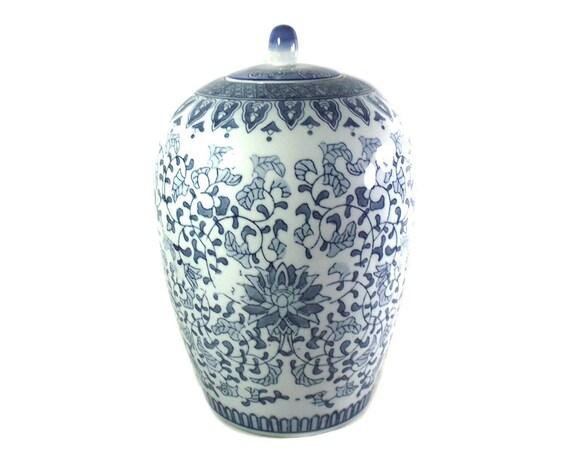 "13"" Large Vintage Chinese Jar"