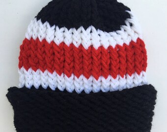 d507e48da884 Chicago Blackhawks Hat Arizona Cardinals Hat New Jersey Devils Hat Atlanta  Falcons Hat Cincinnati Reds Hat Sports Hat Football Hat Fan Gift