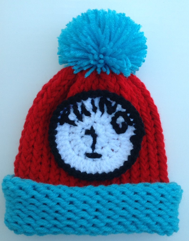75e1ed57e4e17 Thing 1 Thing 2 Thing 3 Hat Dr Seuss Hat Halloween Red and