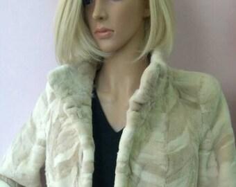 NEW Real Natural sheared MINK Fur jacket! Order Any color