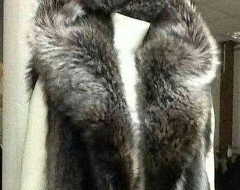 MEN'S!New Hooded Raccoon Fur VEST!