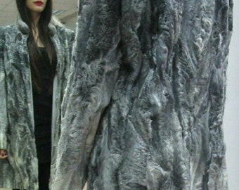 New Natural Real Astrakhan fur coat!