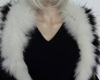New!Natural Real Fur Fox collar!