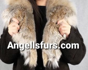 New Natural Real Modern Superior Quality FULLSKINS Brown MINK Fur!