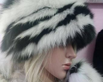 b52511b8602553 Natural,Real Fox Fur HAT!!!