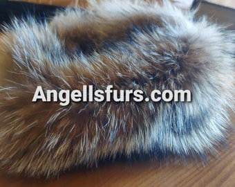 COYOTE Headband!Brand New Real Genuine Coyote fur! UNISEX