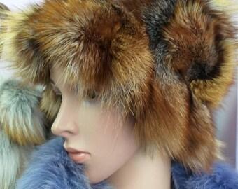 Fox fur hat  65443d344935
