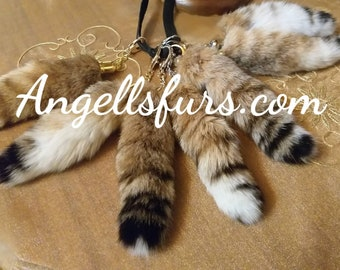 New Real Beautiful Rabbit Keychains!UNISEX!