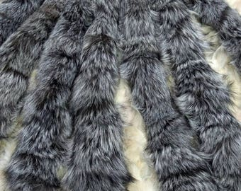 New!!!Natural Real Silver Fox TRIMS!