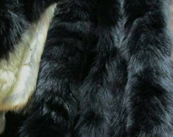 New!!!Natural Real Black FOX TRIMS!