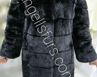 New Natural Real Modern Superior Quality FULLPELTS  MINK Fur!