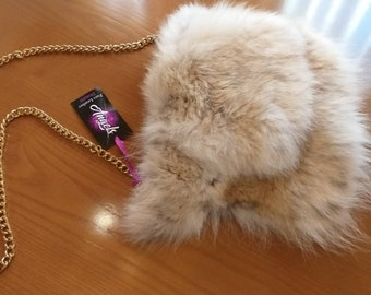 New!Natural,Real Fullskin  Coyote FUR BAG!
