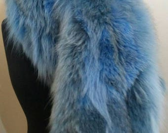 New!!!Natural Real Amazing color Fox  scarf!