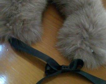 New!!!Natural Real Fox fur small collar!