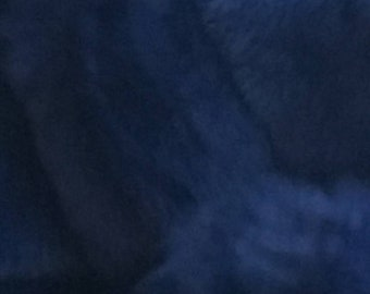 Men'S New!Real Natural Royal blue Rabbit Fur Bomber Jacket!