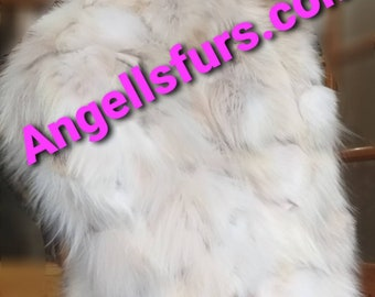 NEW Natural Real Fox Fur jacket!