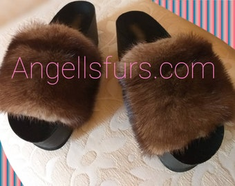 New Real Natural MINK Fur PLATFORMS!