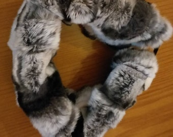 New!Natural Real Rex fur  Headbands!