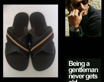 MEN'S! New Real Modern LEATHER SANDALS!
