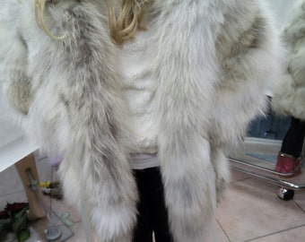 KID'S Natural Real Hooded Fox Fur!!!