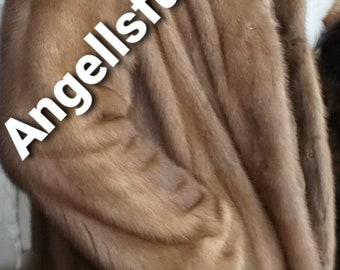 The longer version of MEN'S New Real Natural FULLPELTS Excellent Quality MINK Fur Coat!