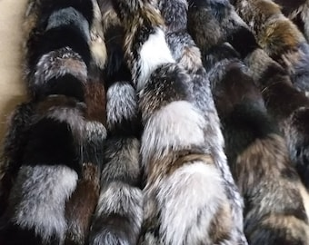 New!!!Natural Real Earth colors Fox TRIMS!