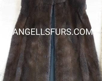 Men'S New Real FULLPELTS MINK Fur VEST!
