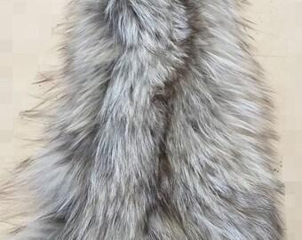 New!Natural Real Fox collar-scarf!
