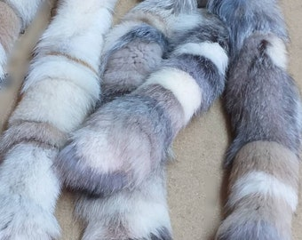 New!!!Natural Real Pastel colors FOX  Trims-Scarves!