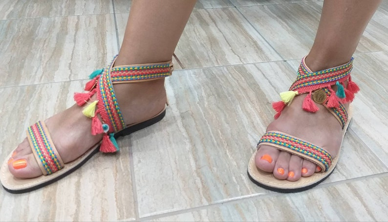 New Collection Real LEATHER SANDALS!