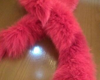 New!Natural Real Fox  scarf!