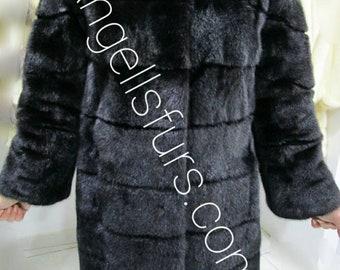 New Natural Real Modern Superior Quality FULLPELTS  MINK Fur!